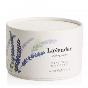 CRABTREE & EVELYN Lavender Dusting Powder with Puf